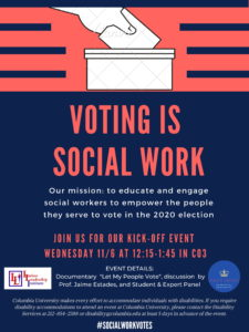 Social Work & 2020 Election